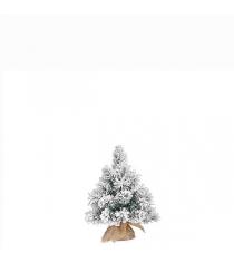Ель Метелица 45 см заснеженная в мешочке