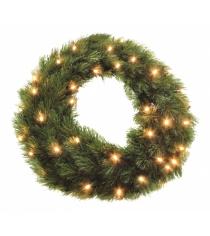 ВенокTriumph Лесная красавица 45 см 48 ламп зеленая