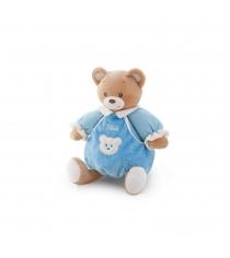 Trudi Мишка в голубом платье со звуком 25см 28242
