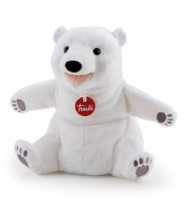 Мягкая игрушка на руку Trudi Белый мишка 25 сантиметров 29959