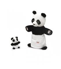 Мягкая игрушка Trudi Панда с детенышем 28 см 29998