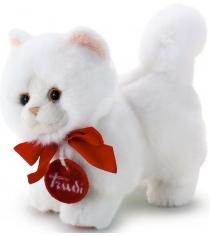 Trudi Белая кошечка делюкс 15см 51035