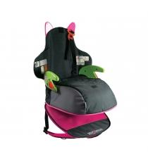 Рюкзак автокресло Trunki BoostApak группа 2 3 черно розовое 9-36 кг 0046-GB01