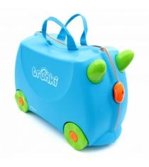 Чемодан на колесиках Trunki голубой 0054-GB01-P1