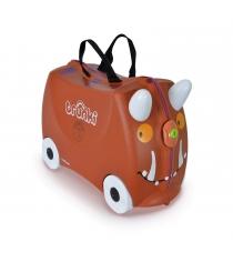 Детский чемодан на колесиках груффало trunki 0108-gb01