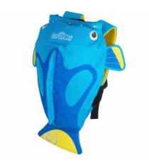 Рюкзак для бассейна Trunki Коралловая рыбка голубой 0173-GB01