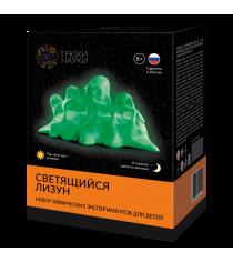 Набор для опытов светящийся лизун зеленыйзеленый Трюки науки z104