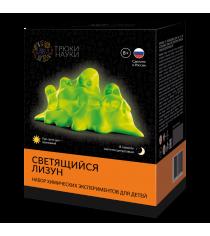 Набор для опытов светящийся лизун оранжевыйцитрусовый Трюки науки z105