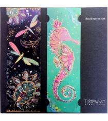 Закладки для книг Turnowsky Стрекозы и Морской конек BKDU105