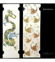 Закладки для книг Turnowsky Рыбы в коронах и Дракон BKDU106