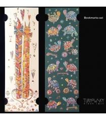 Закладки для книг Turnowsky Два кота и Черепашки BKDU107