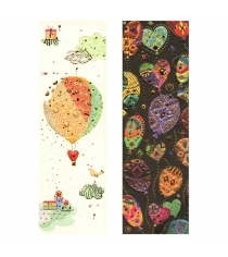 Набор закладок для книг Turnowsky Воздушный шар и Шарики BKDU109