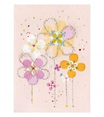 Открытка Turnowsky Пастельные цветы MO5682