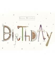 Открытка Turnowsky Happy Birthday MO6097