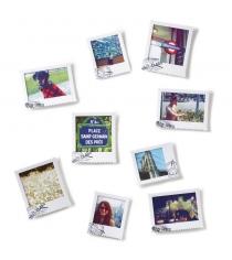 Набор из 9 фоторамок Postal Umbra 315110-660 белый