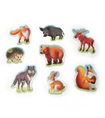 Набор из 8 макси пазлов лесные животные Умка