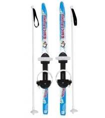 Лыжи детские быстрики с палками голубые 90 см Усть Люга МПЛ 116.00/ЛыжБ