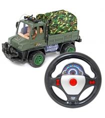 Машина на радиоуправлнении грузовик свет звук Veld 47931
