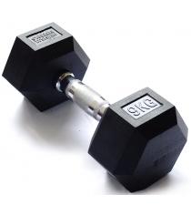 Гантель гексагональная Original Fit.Tools 9 кг FT-HEX-09
