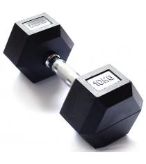 Гантель гексагональная Original Fit.Tools 10 кг FT-HEX-10