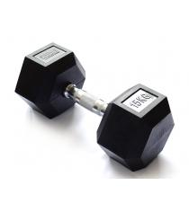Гантель гексагональная Original Fit.Tools 15 кг FT-HEX-15