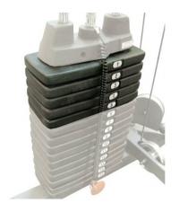 Дополнительный груз к стеку Body Solid 22,5 кг SP10
