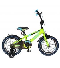 Велосипед 2х колесный Velolider 16 rush spoRT зеленый 5533