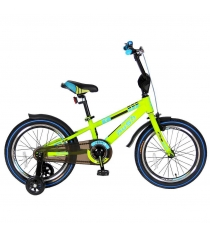 Велосипед 2х колесный Velolider 18 rush spoRT зеленый 5546