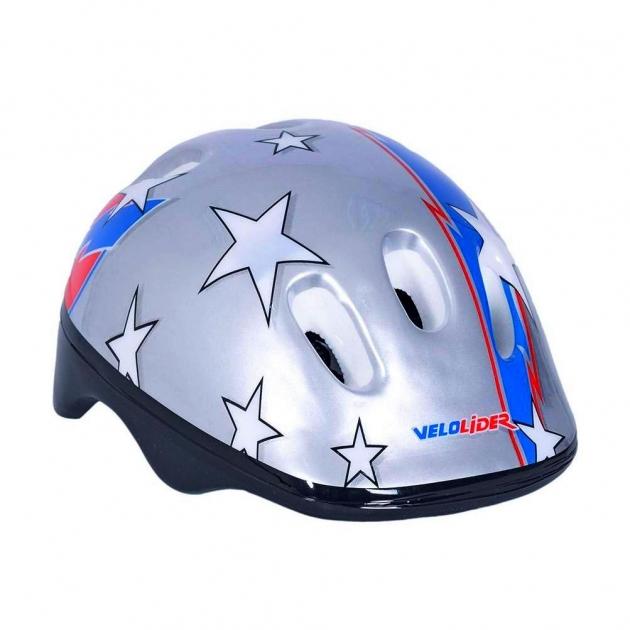 Шлем велосипедный Velolider звезды 6519