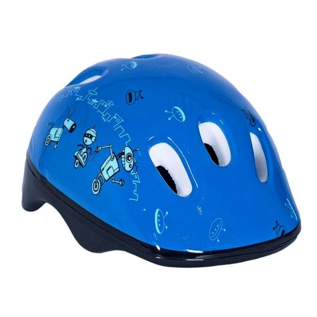Шлем велосипедный Velolider роботы 6521