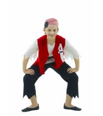 Карнавальный костюм для мальчика Вестифика Пират р.116-122