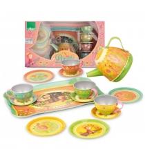 Набор посуды для кукол Vilac Музыкальный 14 предметов V8162
