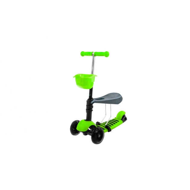 Самокат Viptoys Midou H 2 зеленый