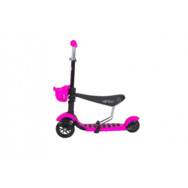 Самокат Viptoys Midou H 2 розовый