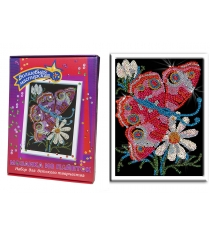 Мозаика из пайеток Волшебная мастерская 001 бабочка