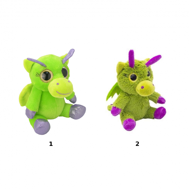Мягкая игрушка orbys дракончик 15 см Wild planet K7849