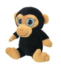 Мягкая игрушка обезьянка 15 см Wild planet K7862