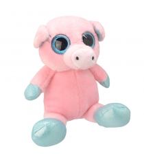 Мягкая игрушка свинка 18 см Wild planet K7864