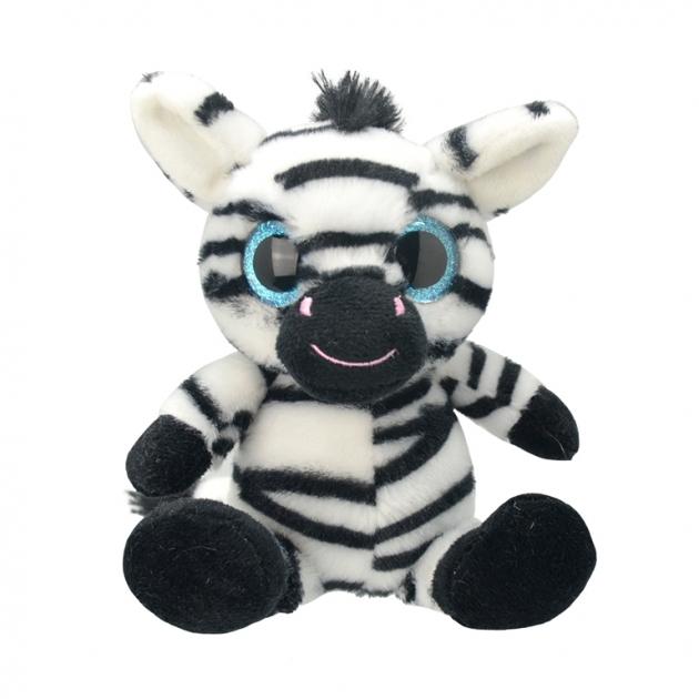 Мягкая игрушка orbys зебра 20 см Wild planet K7873