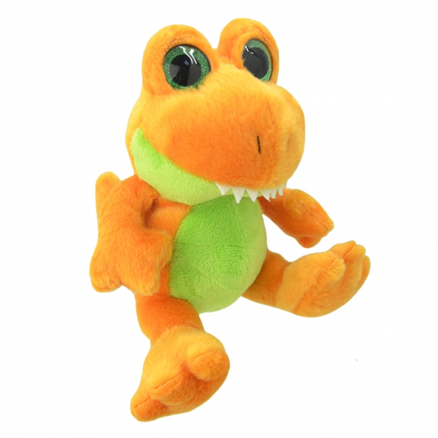 Мягкая игрушка orbys динозавр тирекс 20 см Wild planet K8163