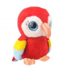 Мягкая игрушка попугайчик 19 см Wild planet K8167