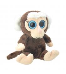 Мягкая игрушка мартышка 19 см Wild planet K8171
