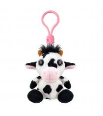 Мягкая игрушка брелок корова 9 см Wild planet K8269
