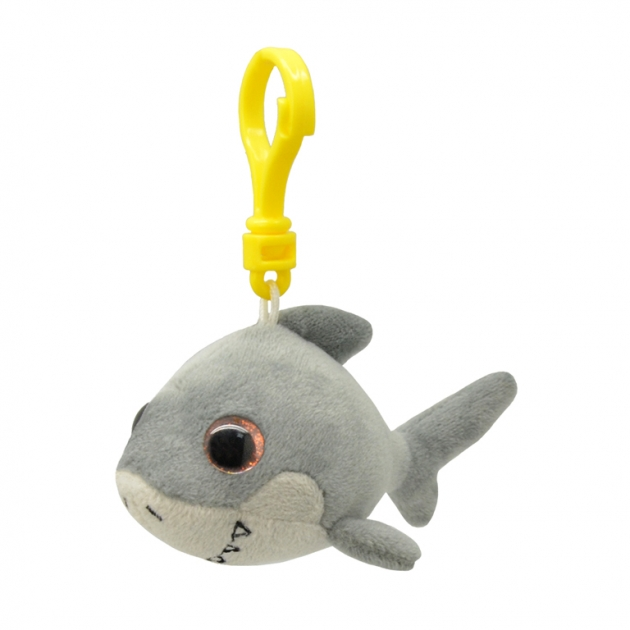 Мягкая игрушка брелок акула 9 см Wild planet K8318