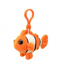 Мягкая игрушка брелок рыба клоун 9 см Wild planet K8320...