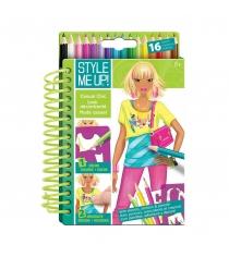 Блокнот с карандашами повседневная элегантность Style Me Up 321юп-no