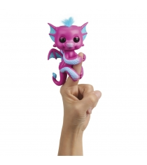 Интерактивная игрушка fingerlings дракон сенди 12 см Wowwee 3583