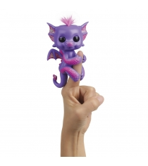 Интерактивная игрушка fingerlings дракон калин 12 см Wowwee 3584