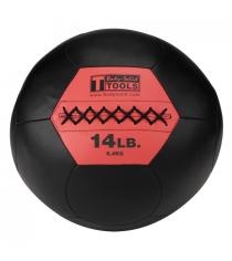 Тренировочный мяч мягкий WALL BALL 6.4 кг 14lb Body-Solid BSTSMB14