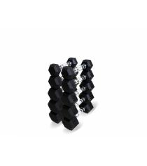 Набор гексагональных гантелей от 1 до 5 кг Original Fit.Tools FT-HEX-SET-30